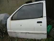 NISSAN MICRA K10 1986 3 DOOR PASSENGER DOOR PANEL No Rust Holes !