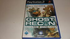 PLAYSTATION 2 PS 2 Tom Clancy 's Ghost Recon Advanced Warfighter