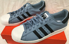 Adidas Superstar Boost BZ0203 Tactile Blue Basketball Sneakers Shoes Men's 10