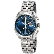 Bulova Tellaro AccuSwiss Chronograph Automatic Blue Dial Mens Watch 63C121
