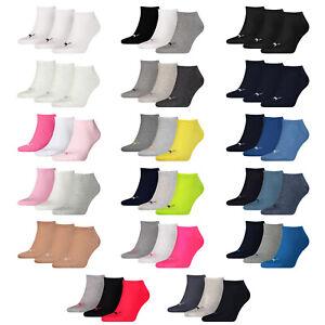 Puma Sneaker Socks 3 6 9 12 15 Pair short Socks Ladies Men's Choice of Colours