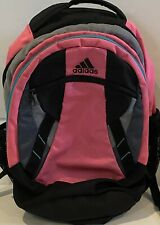 Adidas Large School Backpack 2 Major Compartments With Load Spring Straps