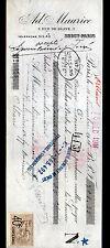 "PARIS Bercy (XII°) VINS en gros ""Ad. MAURICE"" en 1910"