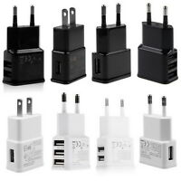 5V 2A 1/2/3-Port USB Wall Adapter Charger US/EU Plug For Samsung S4 5 6 iPhone #