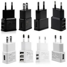 5V 2A 1/2/3-Port USB Wall Adapter Charger US/EU Plug For Samsung  S5 S6 iPhone V