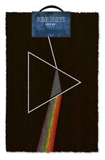 Pink floyd dark side of the moon paillasson 100% coco caoutchouc porte arrière tapis