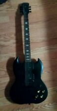 Stagg G300 Demon Full Size Solid Body Electric Guitar - Black w Soft-Case R Hand