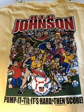 Big Johnson's T-Shirt Soccer Balls New Size Large