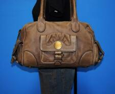 MARC BY MARC JACOBS Brown Rugged Leather CARGO Shopper Shoulder Tote Purse Bag