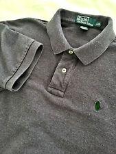 RALPH LAUREN Men's Short Sleeve Purple Polo Shirt Size Large L EUC Green Pony