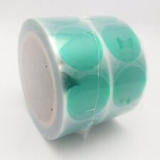 "Green Polyester Masking Dots - 1.5"" - Split Backing - Roll of 1000"