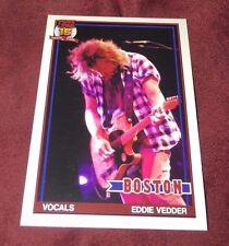 PEARL JAM Fenway Baseball Card - Eddie Vedder 7 playing - Boston pack red sox