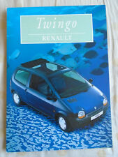 Renault Twingo brochure Nov 1996 Spanish text