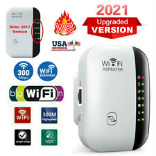 New Listing1x WiFi Range Extender Internet Booster Network Router Wireless Signal Repeater