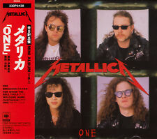 METALLICA One RARE JAPAN CD OBI 23DP 5438 LTD Edition RED DISC!!