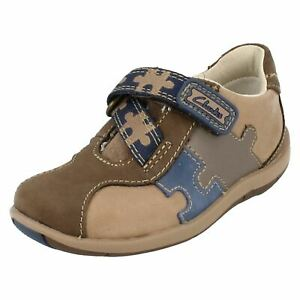 Boys Clarks First Shoes 'Plane Puzzle'