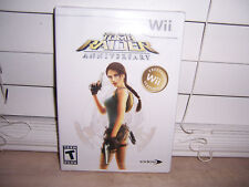 Lara Croft: Tomb Raider Anniversary (Nintendo Wii, 2007) New/Sealed