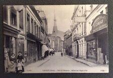 CPA. LAIGLE. 61 - Rue de Bécanne. Hôtel de l'Aigle d'Or. 1914. Machines Gonord.