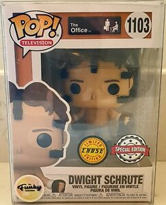 Funko Pop! Dwight Schrute 1103 Basketball Chase The Office Pop! Television