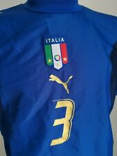 maillot de football Italie marque  puma 2005/2006 Grosso N°3  italy italia