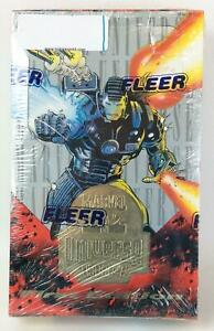 Fleer X-Man Trading Cards Marvel Universe 1994 Booster Box (1st Ed) SW