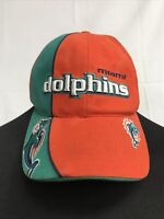 🌴Vintage Reebok NFL Miami Dolphins One Size Adjustable Cap Hat🌴