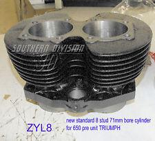 Triumph 650 6T T110 T120 neuer Zylinder new cylinder pre unit 8 Stud 50-62 E3332