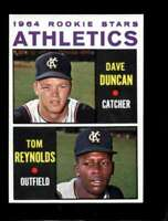 1964 TOPPS #528 DAVE DUNCAN/REYNOLDS NMMT (RC) ATHLETICS ROOKIES *SBA4648