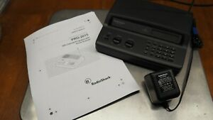 Radio Shack PRO-2015 200-Channel Programmable Home Scanner EUC, Antenna Included