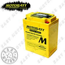BATTERIA MOTOBATT MBTX14AU HONDA VF F INTERCEPTOR 700 1984>1985