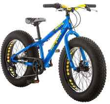 Mongoose Bike 20 inch Boys Fat Tire Bikes Kong 7-Speed Boy Mountain Bicycles