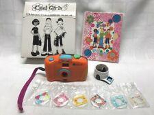 Vtg Avon Exclusive 35mm Camera with Photo Album COOL GIRL + 6 Message Plates NIB