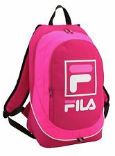 FILA PINK BACKPACK - WOMENS GIRLS RUCKSACK SCHOOL DAY BAG