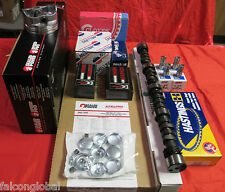 Chevy 305 5.0L MASTER Engine Kit cam pistons gaskets head bolts 1976 77 78 79 80