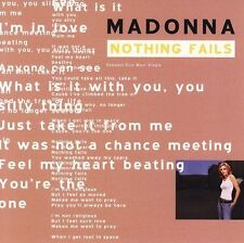 Madonna : Nothing Fails CD