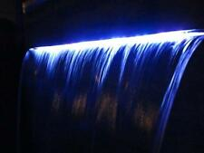 WATER FEATURE SPILLWAY 1.5M wide WITH MULTICOLOUR LED LIGHTS COMMERCIAL GRADE