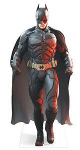 BATMAN LIFESIZE CARDBOARD CUTOUT STANDEE The Dark Knight Rises Christian Bale