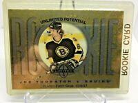 1997-98 Donruss Limited Exposure Joe Thornton ROOKIE Messier Bruins SP RC MINT