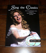 SONG BOOK + 2 CDs: Sing The Classics 2011 Wise Classical Vocal Piano UK Import