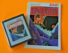 Atari 2600 - GRAVITAR w/ Manual***RARE***