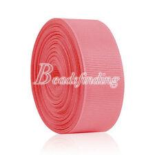 11yards Grosgrain Ribbon Wedding Ribbon Crafting Patry Favor 6/10/15/20/25/38mm