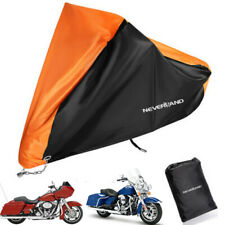 XXXL Orange Motorcycle Cover For Harley Davidson Road Glide King Ultra Limited