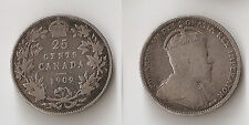 Canada 25 cents 1909