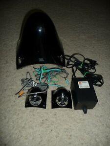 JBL Creature II Black 2.1 3-Piece Desktop Speaker System with Rebuilt Satellites