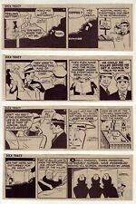 Dick Tracy by Chester Gould - 27 daily comic strips - Complete January 1976
