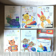 Lot 5 Baby Einstein DVDs and 1 CD Mozart Neptune Bach Da Vinci