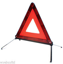 REFLECTIVE ROAD SAFETY WARNING TRIANGLE FOR DRIVING IN FRANCE CAR BOOT TRIANGLE