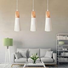 Kitchen Pendant Light Bedroom Ceiling Light Wood Lamp Modern Chandelier Lighting