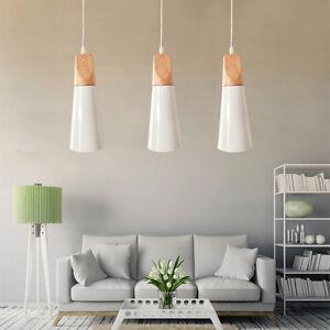 Kitchen Pendant Light Bedroom Ceiling Light Wood Lamp Bar Chandelier Lighting