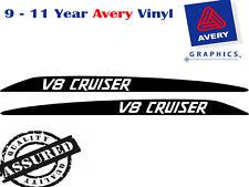 V8 CRUISER Decal Sticker for Toyota Landcruiser 76 70 78 79 Series Bonnet scoop